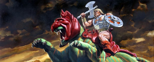 Masters of the Universe: prima occhiata al look di Battlecat?