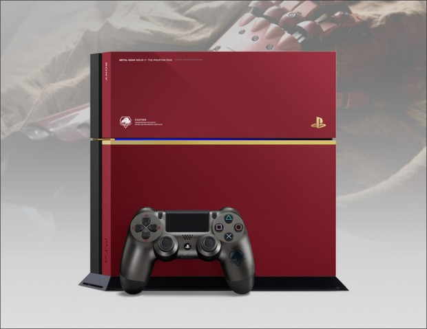 Annunciata una PlayStation 4 a tema Metal Gear Solid 5 The Phantom Pain per il Giappone