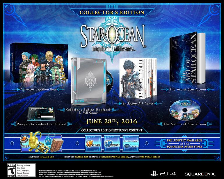 Star Ocean 5 arriva in Europa a luglio, confermata una limited edition