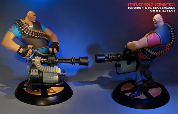 Team Fortress 2: arrivano le statuette del The Heavy