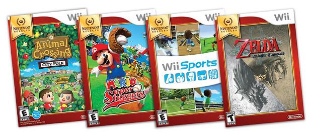 Nintendo Selects: i primi scatti delle copertine