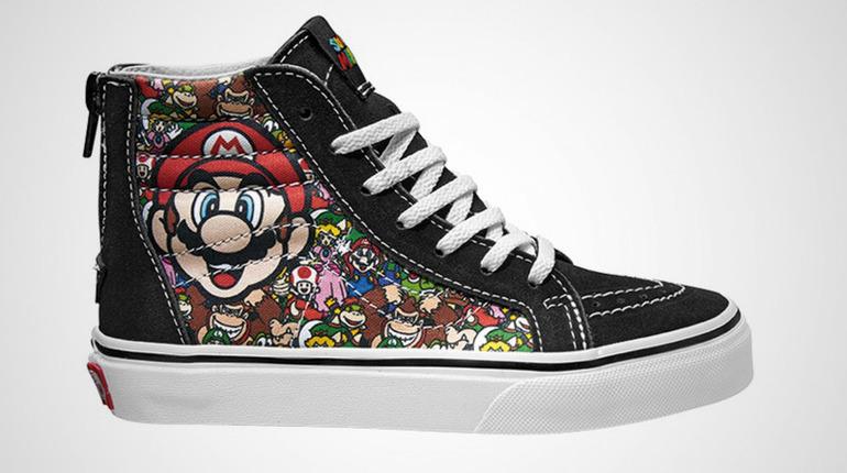 Vans lancia una nuova collezione di scarpe ispirata ai personaggi Nintendo