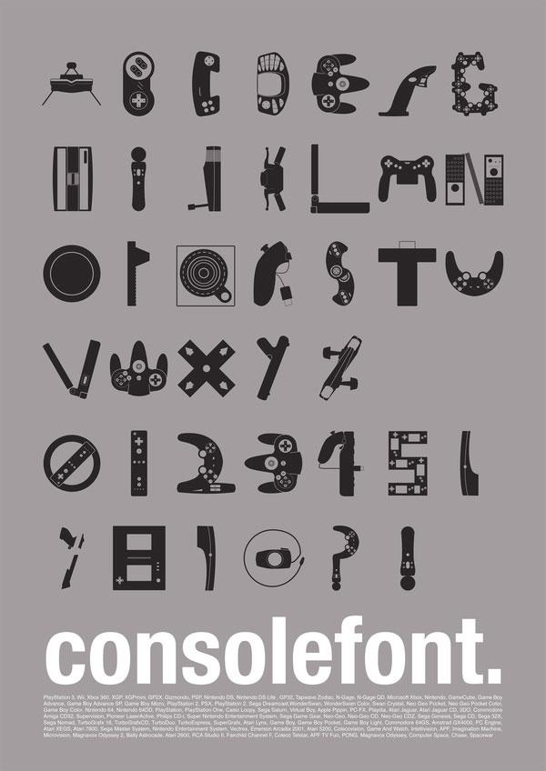 L'alfabeto in versione videoludica
