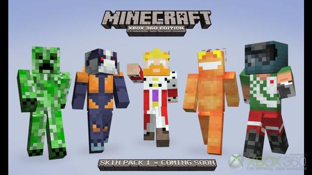Minecraft: in arrivo uno skin pack per la versione Xbox 360