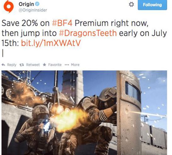 Battlefield 4: svelata la data di uscita dell'espansione Dragon's Teeth?