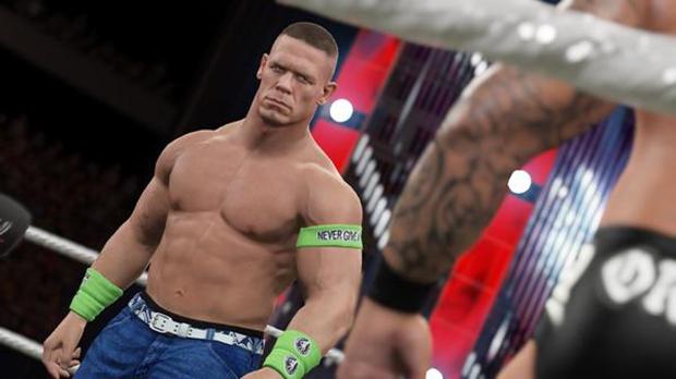 WWE 2K15: John Cena si mostra in foto