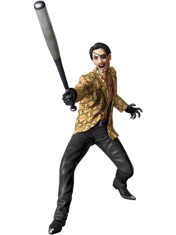 Yakuza Kiwami: immagini e artwork dei personaggi