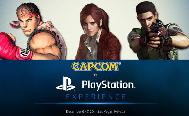 Capcom sarà presente al PlayStation Experience 2014