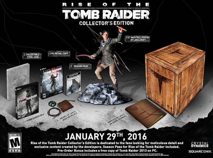 Rise of the Tomb Raider per PC: data di uscita annunciata