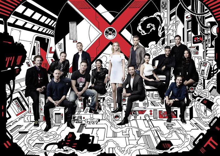 X men tutti