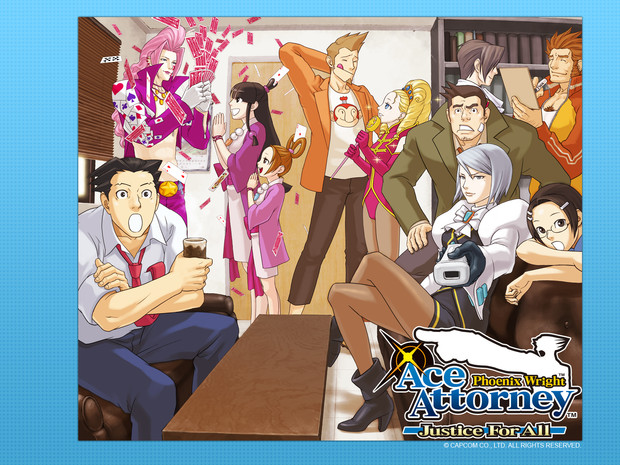 Phoenix Wright: Ace Attorney Justice for All, su WiiWare dal 19 Febbraio