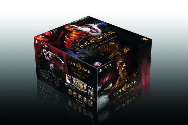 God of War 3, svelata la confezione europea della Ultimate Edition