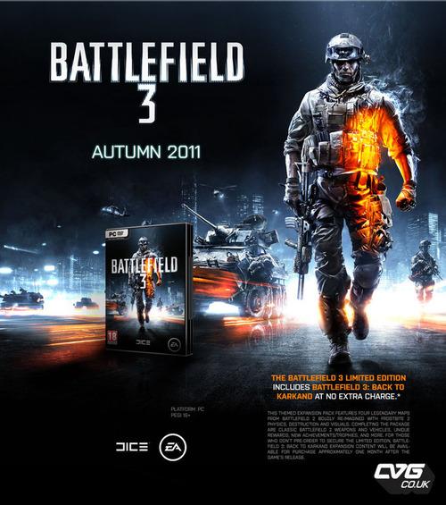 Battlefield 3: un advertising trapelato in rete rivela la limited edition?