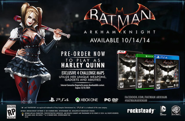 Batman Arkham Knight: GameStop svela la data di uscita?