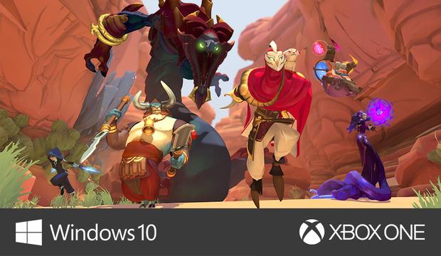Gigantic arriverà anche su Xbox One