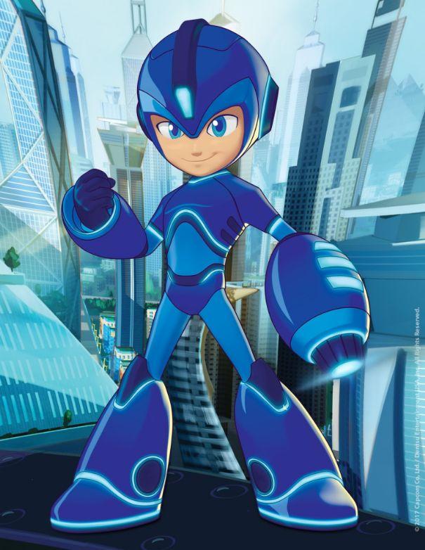Il nuovo cartone animato di mega man debutterà su cartoon
