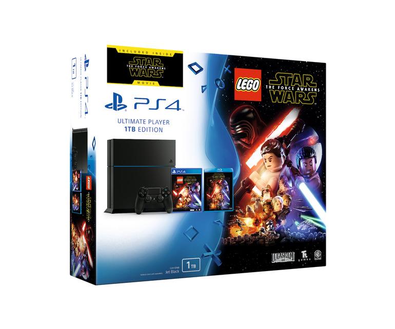 PlayStation 4: bundle dedicato a LEGO Star Wars Il Risveglio della Forza