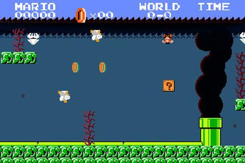 Super Mario Bros e il disastro ambientale del Golfo del Messico