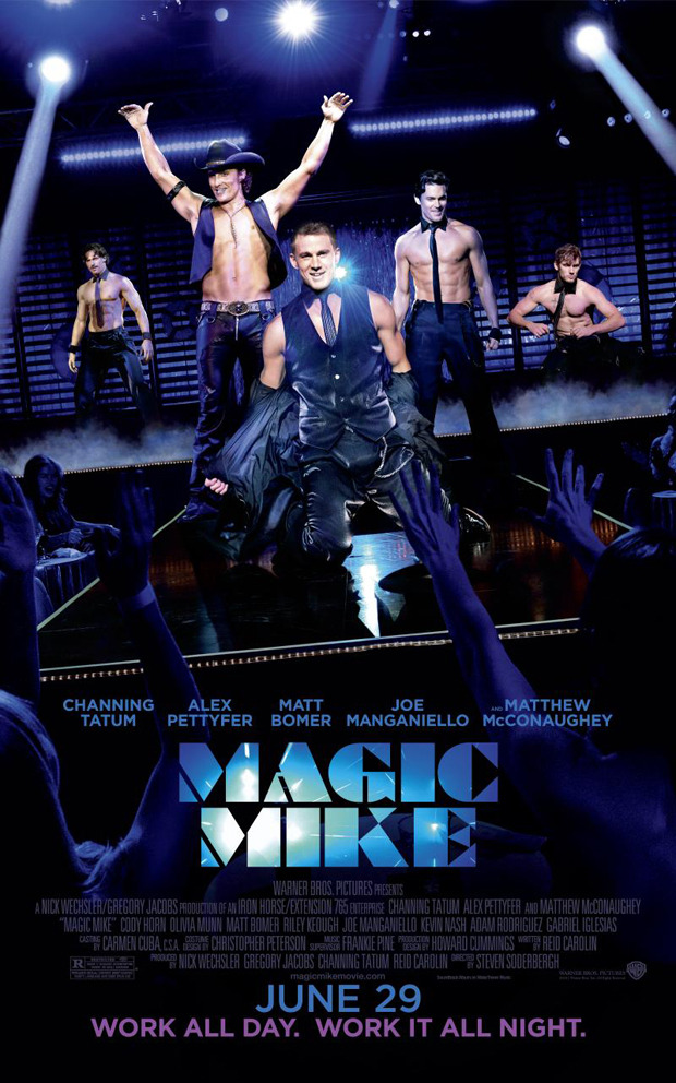 Magic Mike: un nuovo poster con Channing Tatum e gli altri stripper