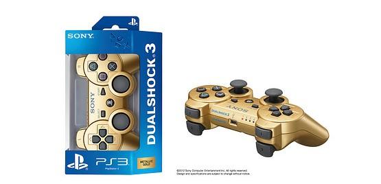 PlayStation 3: è in arrivo un dualshock dorato