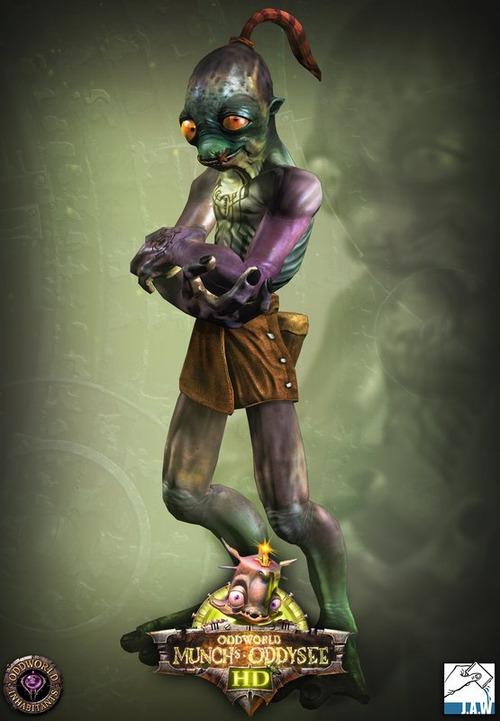 Oddworld: Munch's Oddysee HD: il nuovo look di Abe
