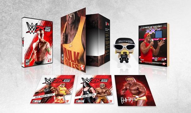 WWE 2K15: annunciata l'edizione limitata