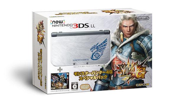 New Nintendo 3DS XL: foto dell'edizione speciale dedicata a Monster Hunter 4G