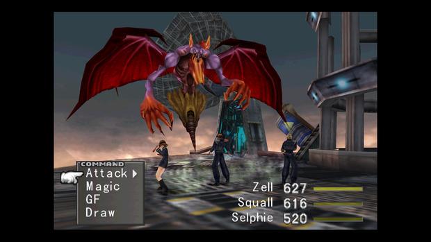 Final Fantasy VIII: pubblicate nuove immagini