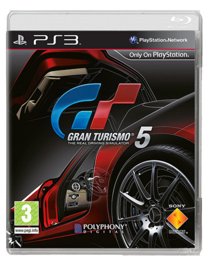 Ecco la copertina europea di Gran Turismo 5