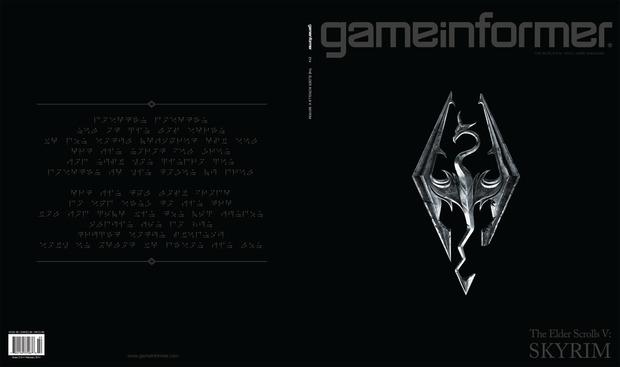 The Elder Scrolls V: Skyrim, la cover di Game Informer include le prime info sulla storia