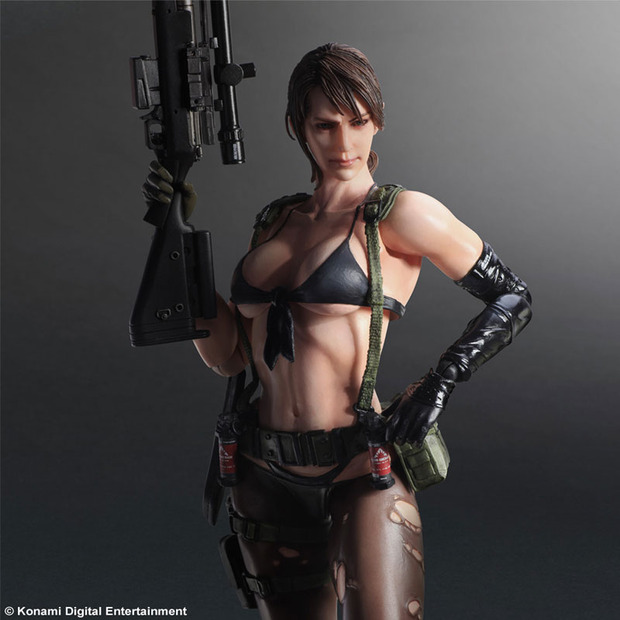 Metal Gear Solid 5 The Phantom Pain: presentata l'action figure di Quiet