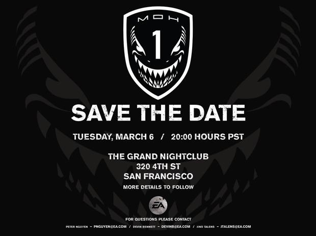 Medal of Honor 2: annuncio ufficiale previsto  il 6 marzo 2012