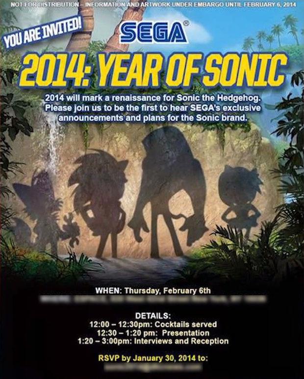 SEGA: evento speciale dedicato a Sonic