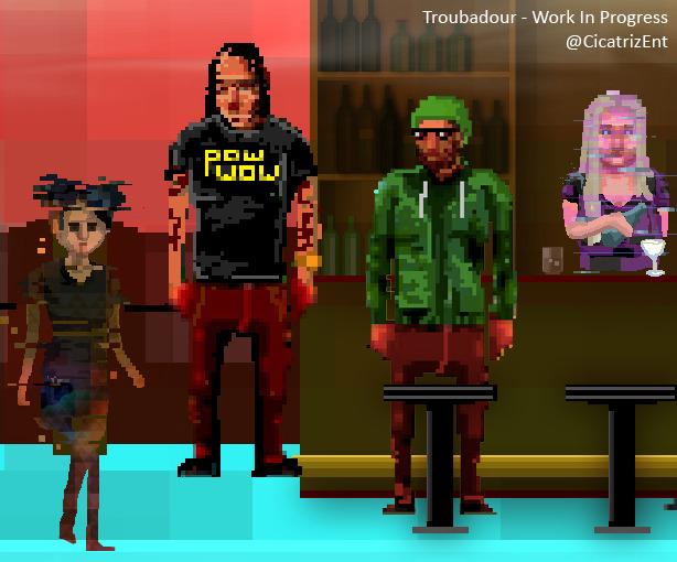 Troubadour: graphic novel interattiva per PC e Mac