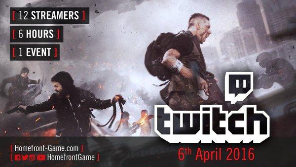 Homefront The Revolution si mostrerà questa sera alle 19:00 in uno speciale evento Twitch