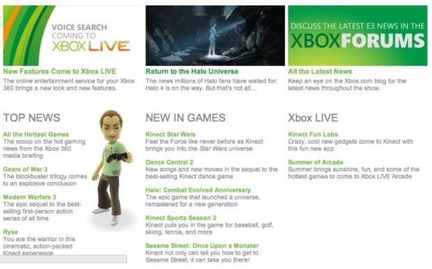 Fuga di notizie dal sito E3 dell'Xbox: svelati Halo 4 e Halo HD