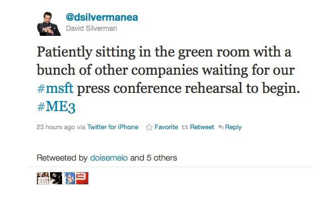 Mass Effect 3 confermato per la Press Conference Microsoft all'E3 2011