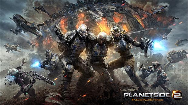 Planetside 2 per PS4 non richiederà un abbonamento PlayStation Plus