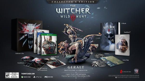 The Witcher 3 Wild Hunt: trailer dedicato alla collector's edition
