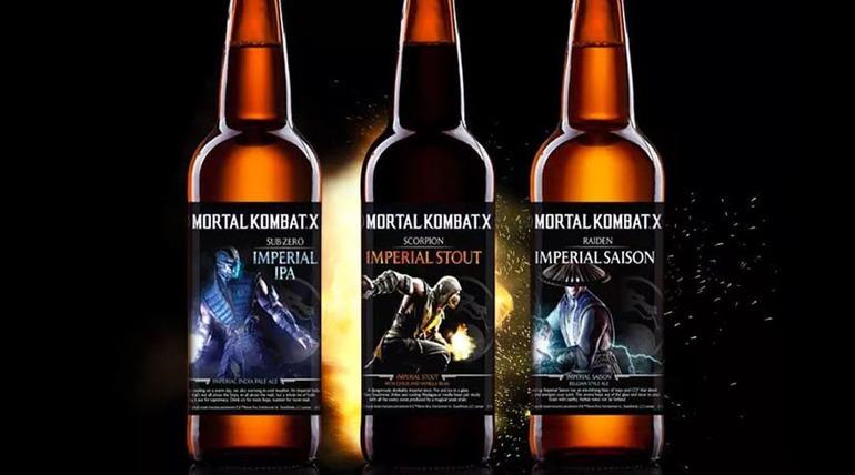 Mortal Kombat X: arriva la birra ufficiale del gioco