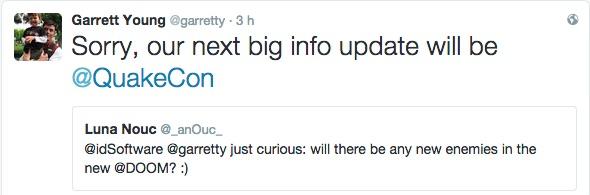 Nuovi Informazioni su Doom verrano rivelate durante il Quakecon