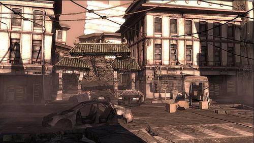 Downfall, immagini di un titolo cancellato di Crystal Dynamics