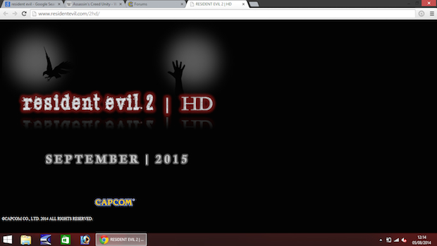 Resident Evil 2 HD a settembre 2015?