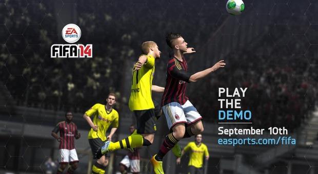 Fifa 14: la demo arriverà il 10 Settembre