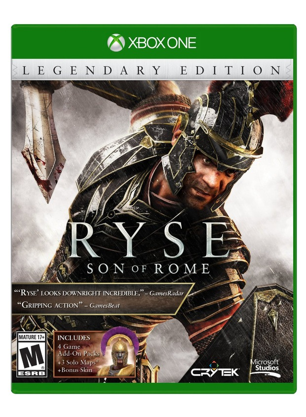 Ryse Legendary Edition per Xbox One compare su Amazon