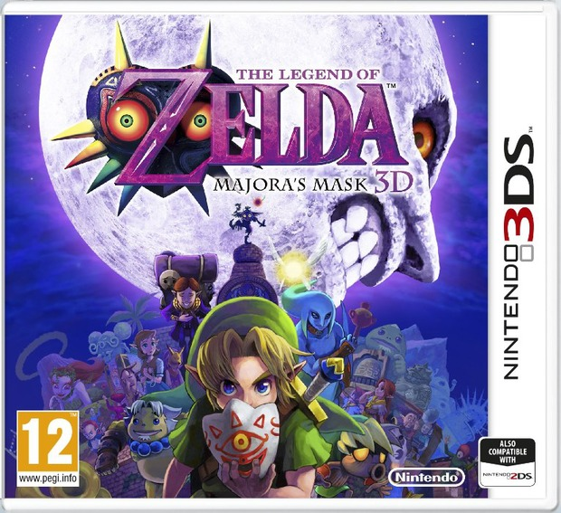 The Legend of Zelda Majora's Mask 3D: trailer di debutto e screenshot