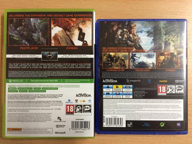 Call of Duty Black Ops 3: niente immagini in-game sulle copertine delle versioni PS3 e Xbox 360