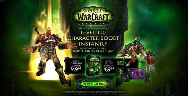 World of Warcraft Legion: svelato il periodo di uscita?