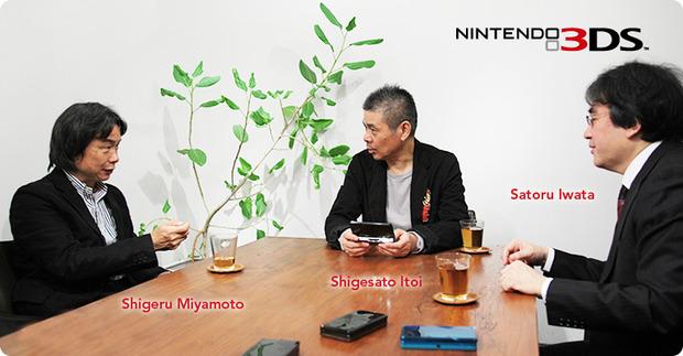 Nintendo 3DS: intervista in inglese della serie 'Iwata Ask'