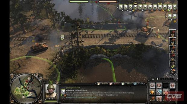 Company of Heroes 2, uno screenshot rivela la nuova interfaccia